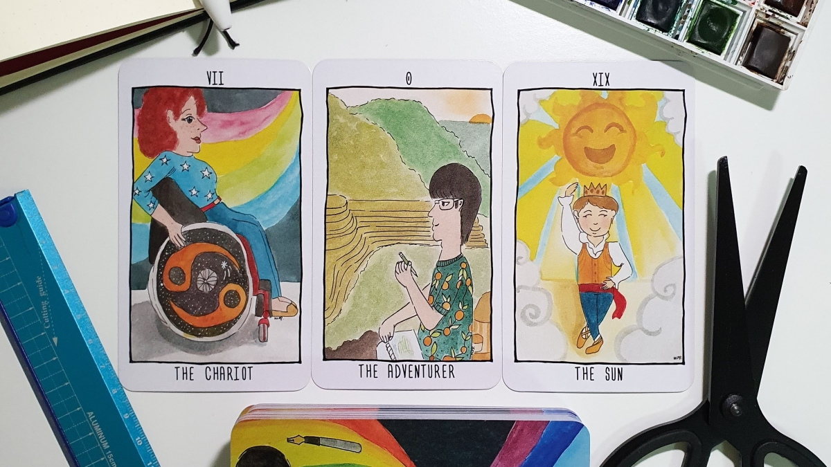 The Quirky Creatives Tarot Deck